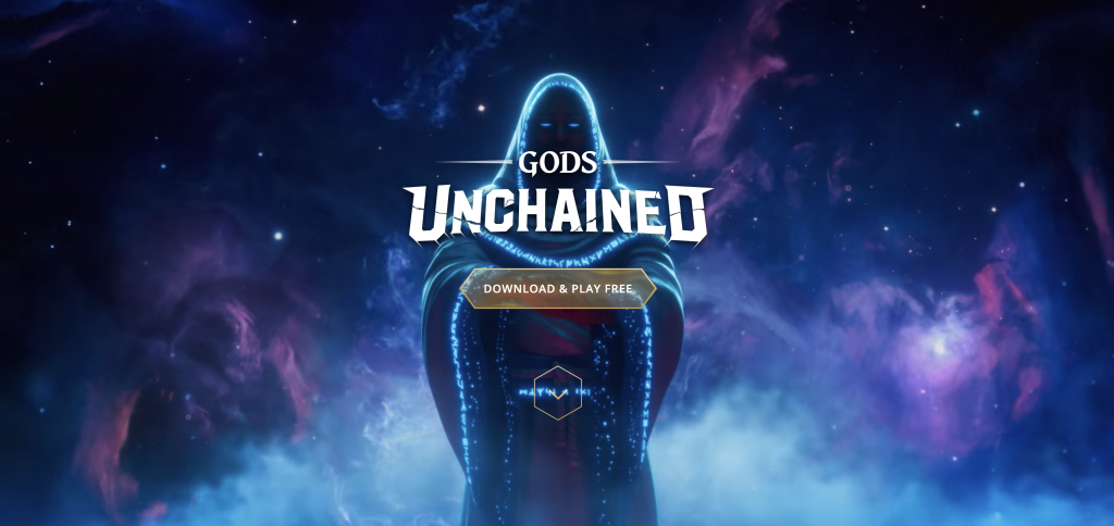 Gods Unchained blockchain game 2020