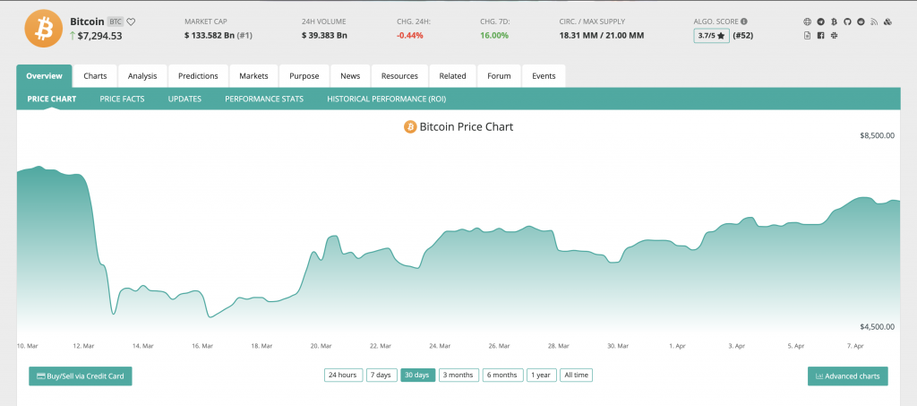 CoinCheckUp Website Preview